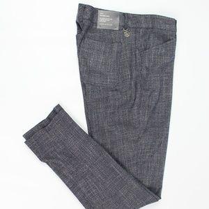 Tommy Hilfiger blue tweed Berkeley ankle pants
